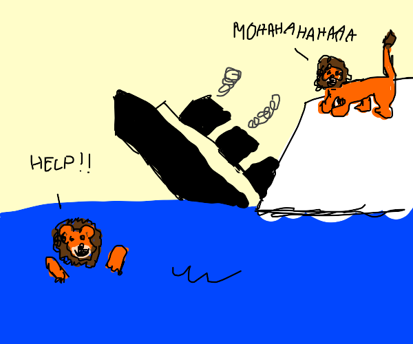 Lion King and Titanic crossover