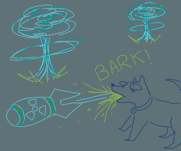 Nuclear Dog bark