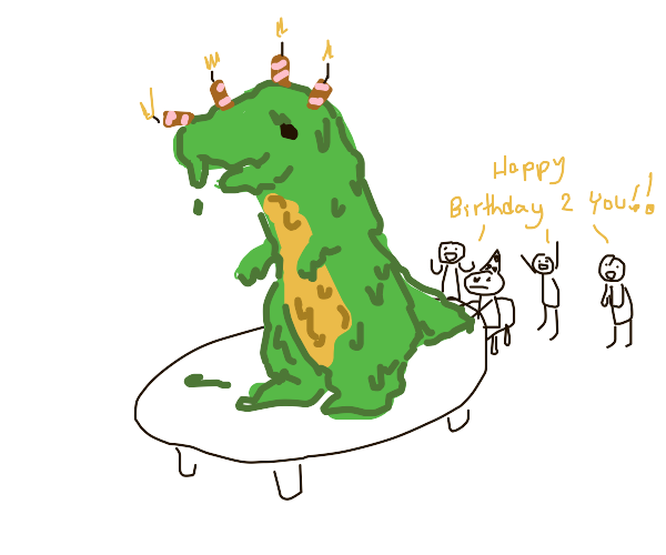 Birthday Cake (Dinosaur)