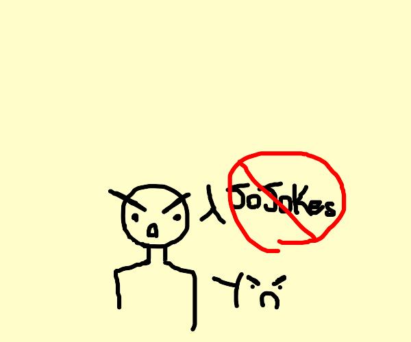 someone really doesnt like jojokes