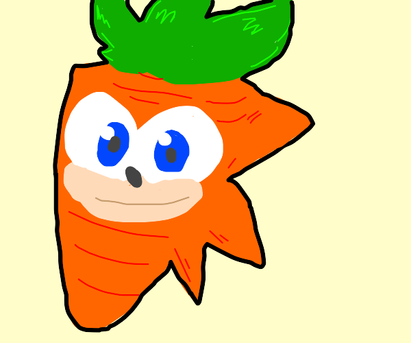 Sonic as a carrot