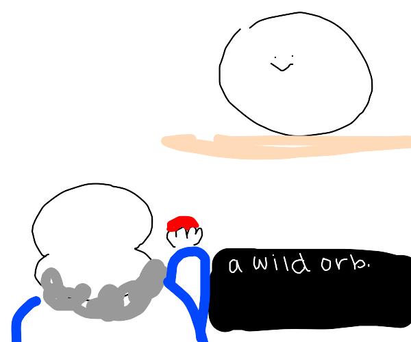 Sans VS. Weird orb man