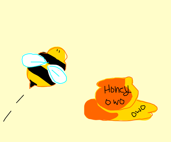 bee with howoney