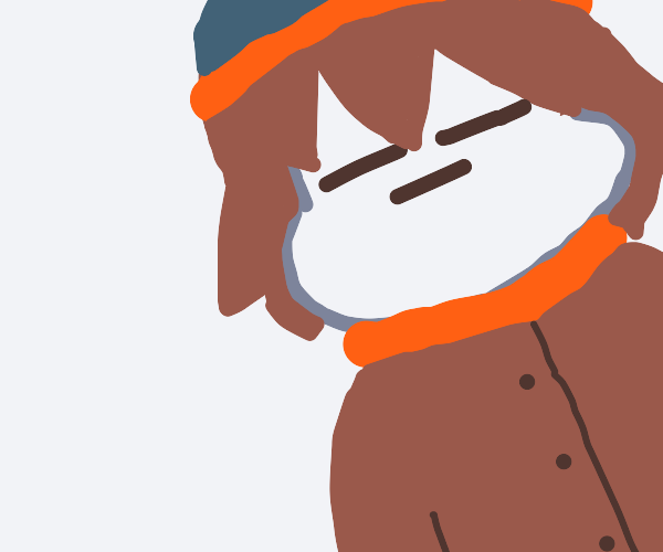Frisk wears Stan Marsh's clothes