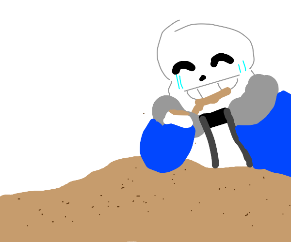 sans eatting sand