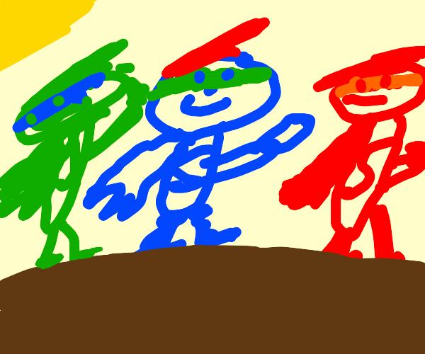 Three Heros
