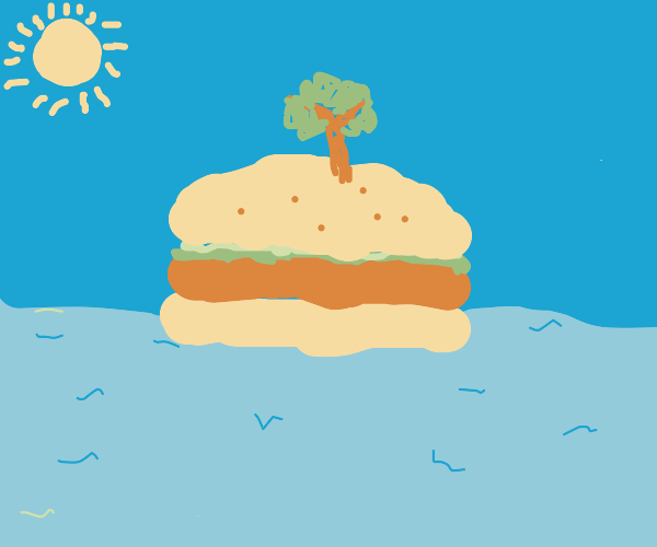 Hamburger island