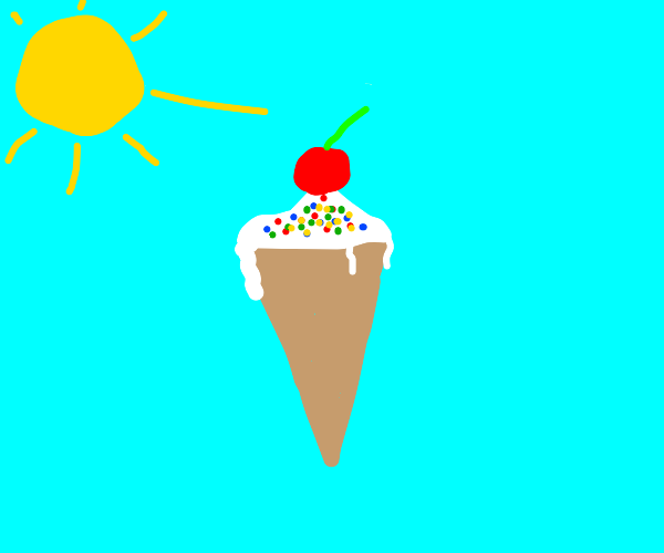 Melting Ice-cream
