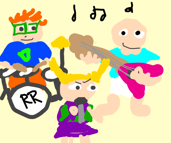 Rugrats on a band