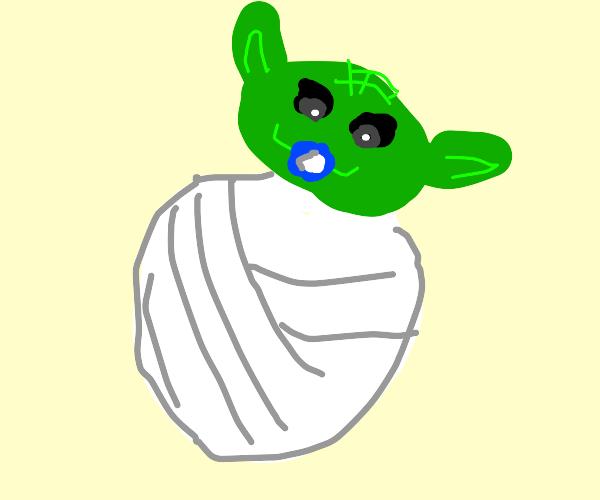yoda is a baby, hmm?