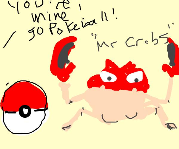 "Catching Pokémon ""Mr. Crabs"""
