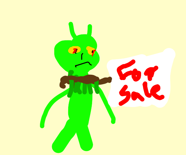 The Grinch is for sale