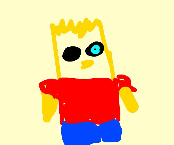 Bart Simpson is Sans