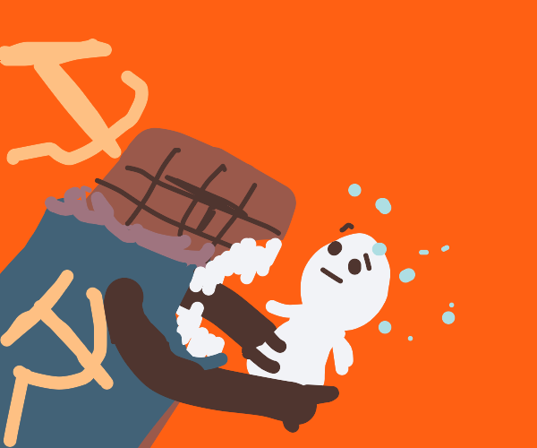 in Soviet Russia, Chocolate Bar eats YOU.