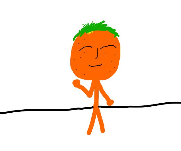 Orange person