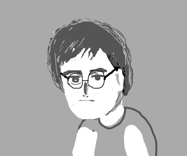 John Lennon self-portrait