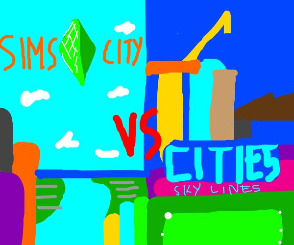 Simcity vs Cities: skylines