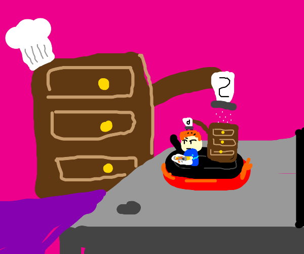 a drawer cooking a drawer cooking a drawer