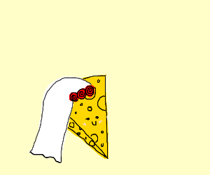 Cheesy bride