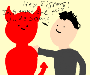 james charles and devil are bffs ! <3