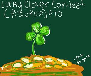 Lucky Clover Contest Practice PIO