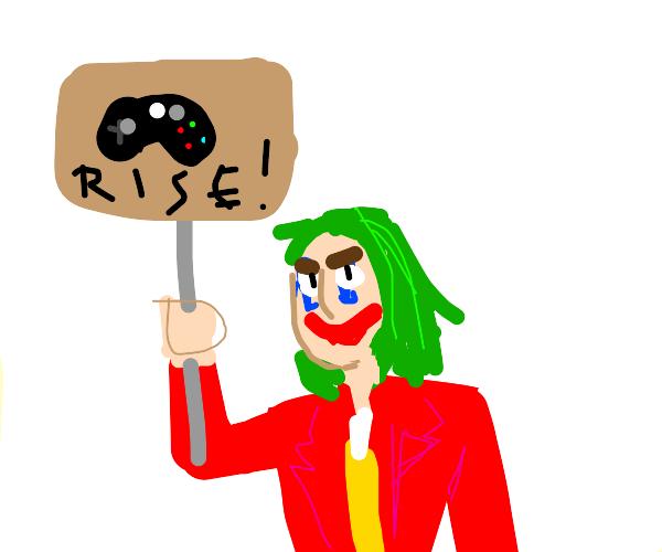 Joker is a part of #gamersriseup