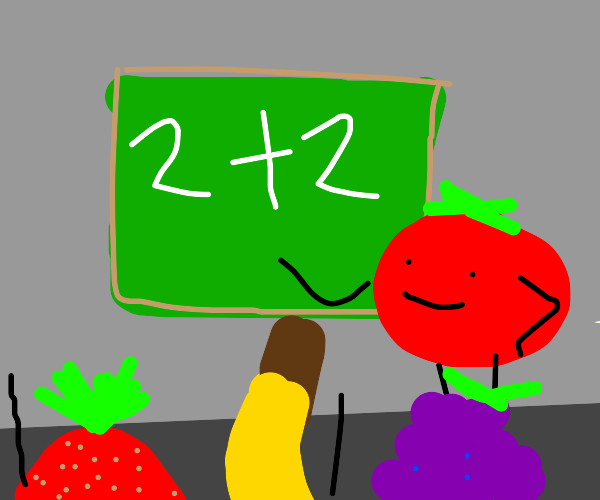Teaching math with tomatoes.
