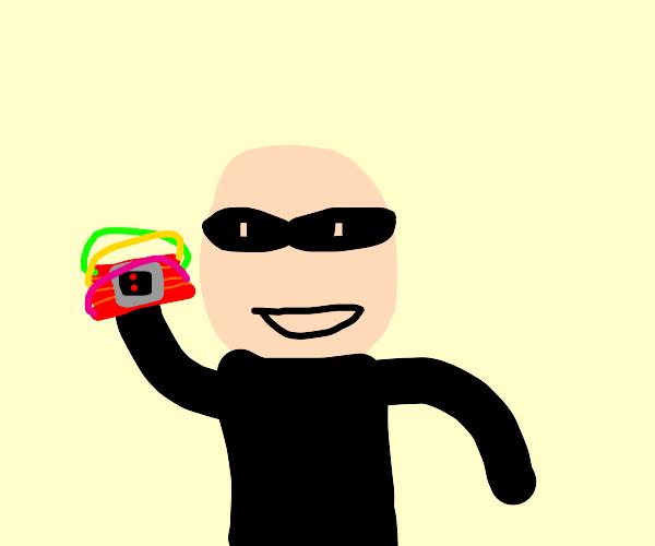 cocky robber/demolition guy