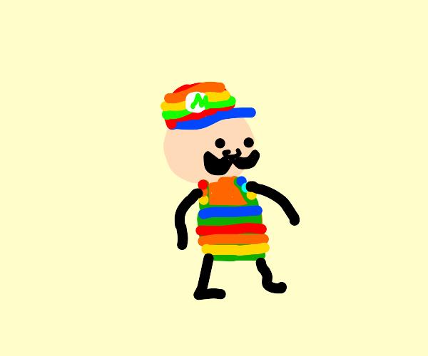 Colorful Mario
