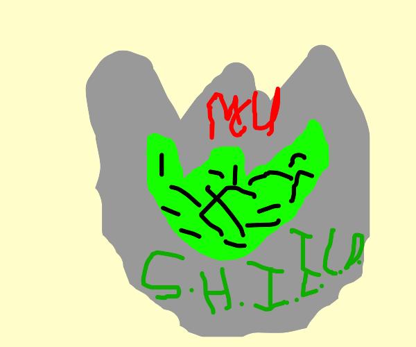 green eagle sheild logo
