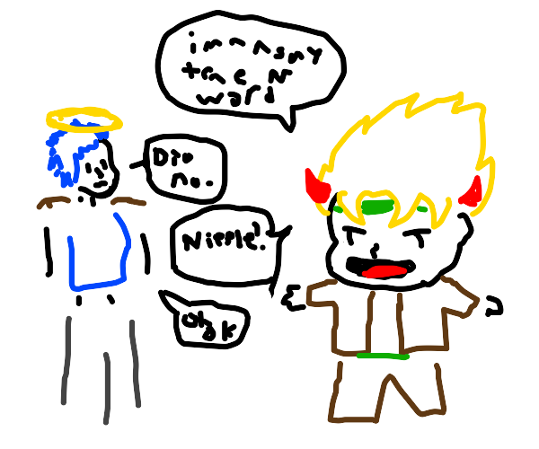 oh noe dio is gonna say the n word