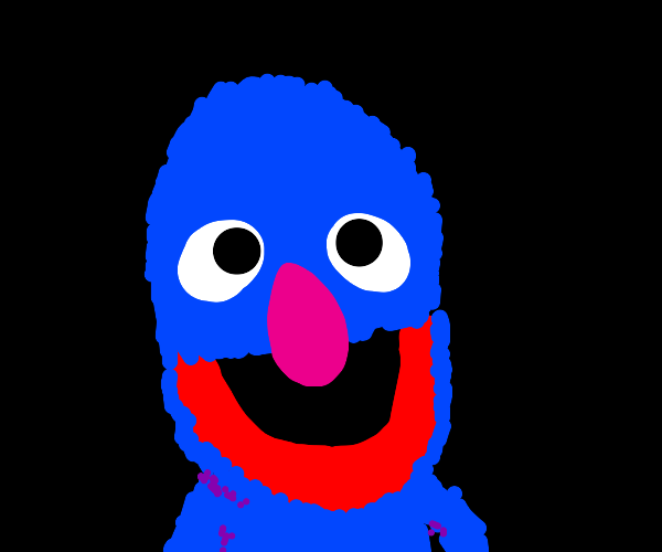 Grover is quite surprised.