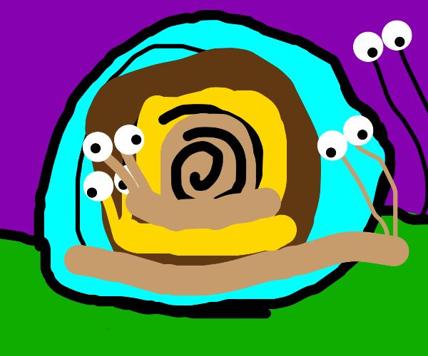 Purple snailception.