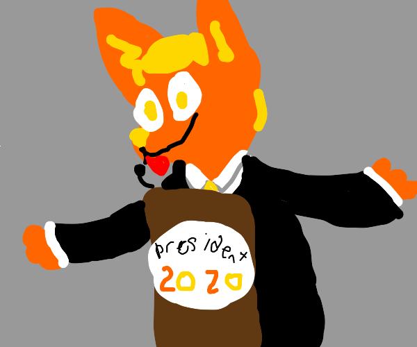 Furry president 2020