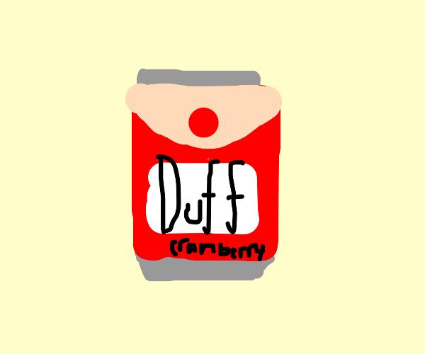 Wanna DUFF Cranberry?