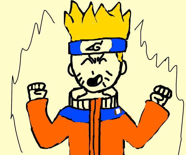Naruto becomes super sain