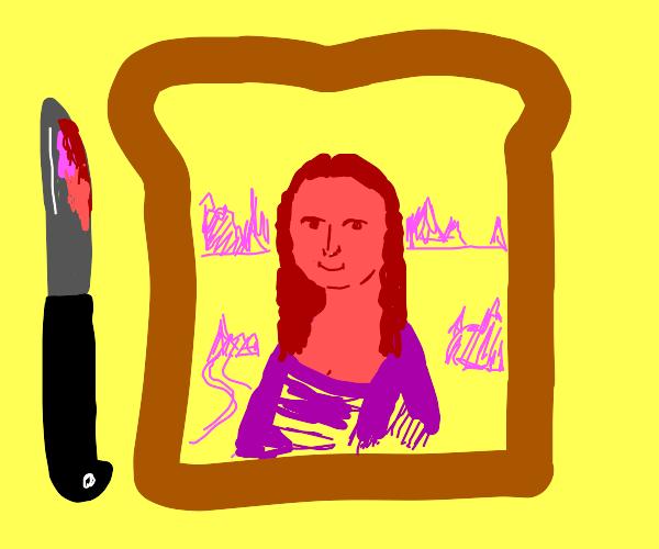 Lady portrait in jam