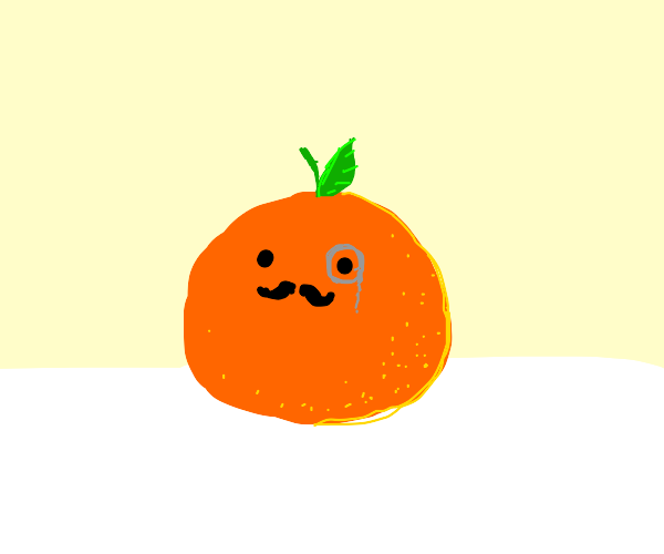 fancy orange