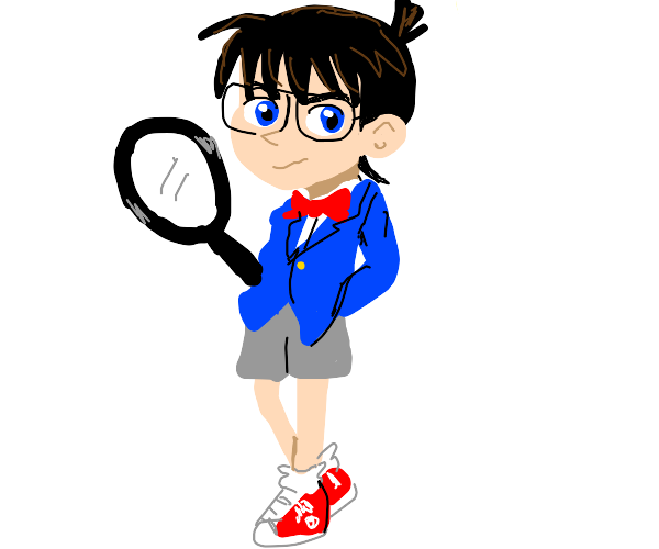 Schoolboy detective