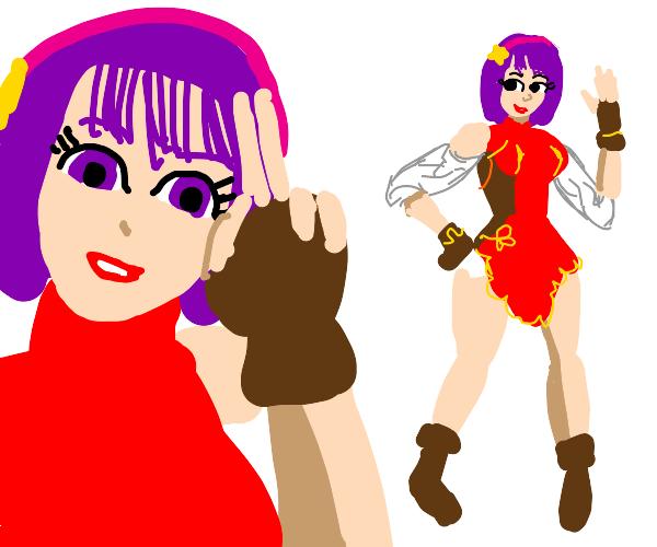 An anime girl which looks familiar