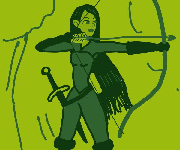 Female Elf Ranger