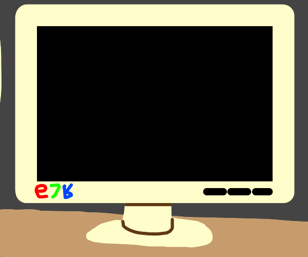 Just a blank screen