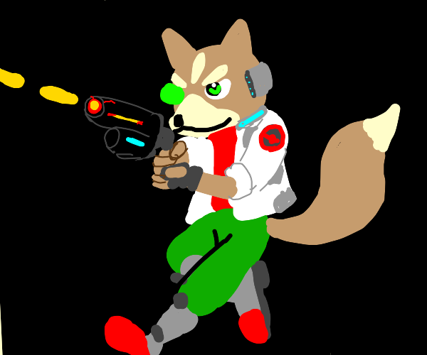 Fox-man warrior