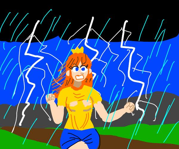 Thunderstorm over Daisy
