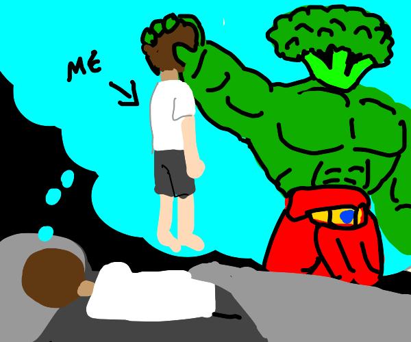 bad dreams about broccoli
