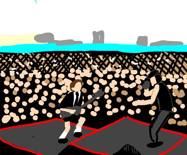 AC/DC concert.