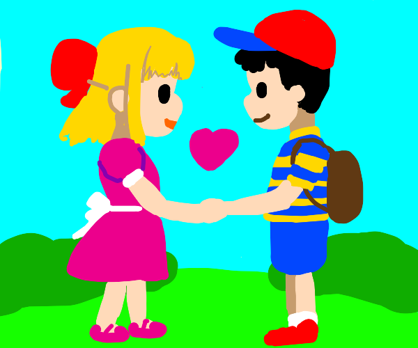 NESS AND PAULA FOREVER :3 oh yeah