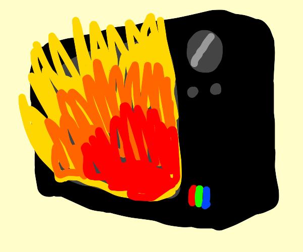 Flaming Television
