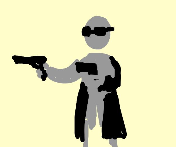 Duel wielding guns
