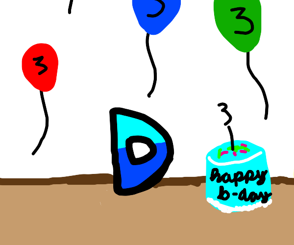 Drawception's 3rd birthday